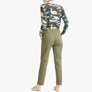 J. Crew High Rise Chinos